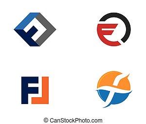 logo, bedrijfszaak, mal