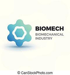 logo, biomechanical, business