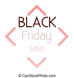 Logo Black Friday sale.