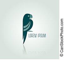 Logo blue Parrot