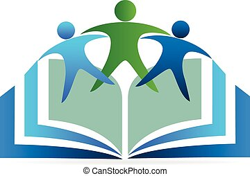 logo, boek, opleiding