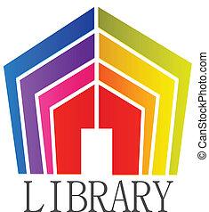 logo, boekjes , bibliotheek