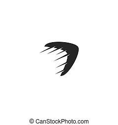 logo, boomerang