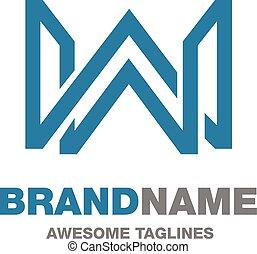 logo, brief, w, creatief