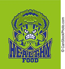 logo, brocoli