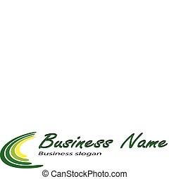 Logo - Business, corporation elegant logo, clean vector ...