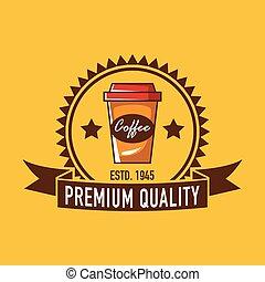 logo, cafe, logo, restaurang
