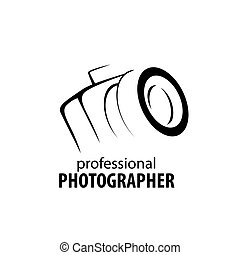 logo camera the photographer - logo camera in the hands of ...