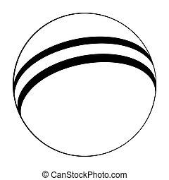 logo, caoutchouc, app, icône, icon., conception, plat, bébé, vecteur, icône, balle, ui, illustration, toile