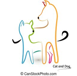 Logo cat and dog