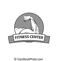 logo, centre, fitness