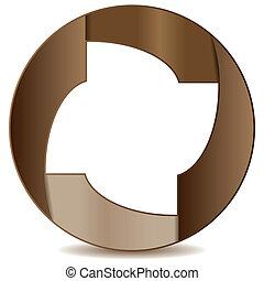 logo, cercle