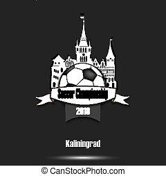 logo, championnat, football, 2018