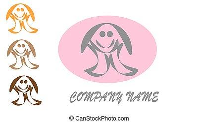 Logo Child. Web vector