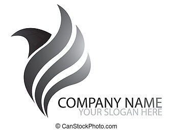 logo - bird, business, logo name, logo, icon, company name,...