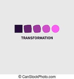 Logo coaching development. Icon personal growth training....