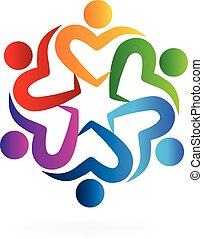logo, collaboration, aimez coeur