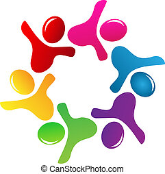 logo, collaboration, figures, gens