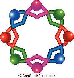 logo, collaboration, gens