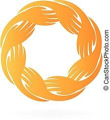logo, collaboration, mains