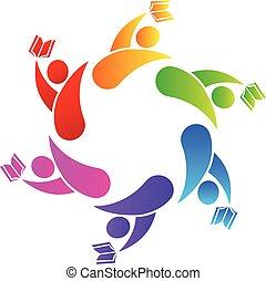 logo, collaboration, remise de diplomes