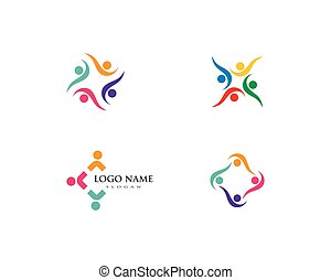 logo, communauté