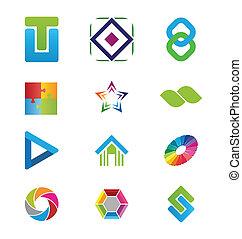 logo, communie, creatief
