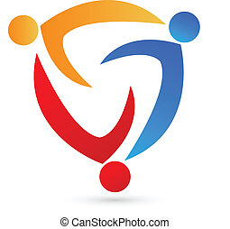 logo, compagnie, collaboration, carte identité