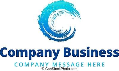 logo, compagnie, symbole, business