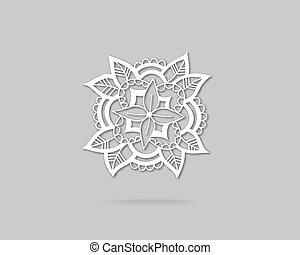 logo, conception abstraite, gabarit