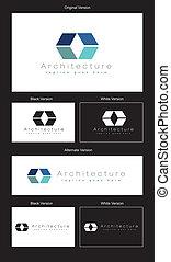logo, conception, architecture