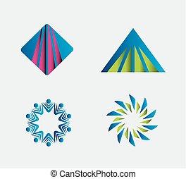 logo, conception, gabarit