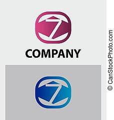 logo, conception, gabarit, elements., icône