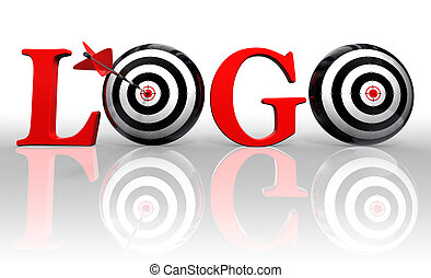 logo conceptual target
