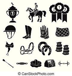 logo., concurrence, objet, vecteur, stock., isolé, sport, ...