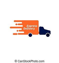 Logo courier service