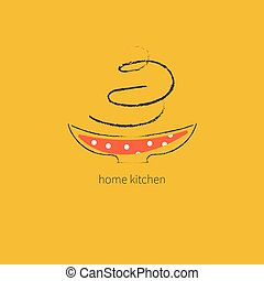 Logo delivery home food
