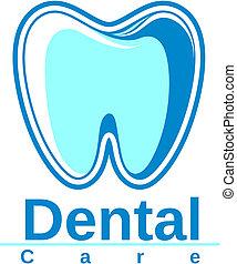 logo, dental