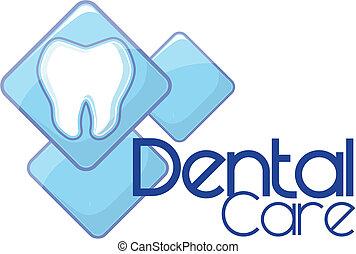 logo, dental, vektor