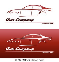 Logo design car