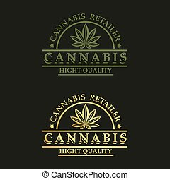 Logo design for cannabis