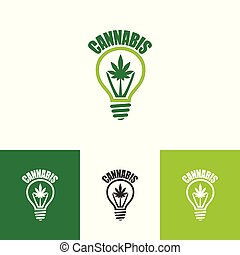 Logo design for cannabis