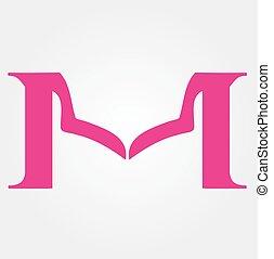 Logo design for fashion apparel business- Alphabet M...