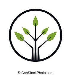 Logo design for tree