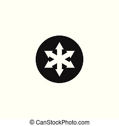 logo, design, pfeil