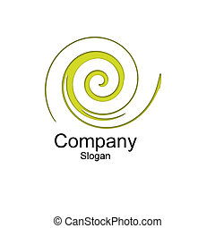 Logo - a small logo on a white background