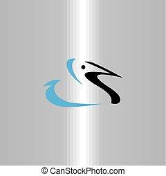 logo duck vector symbol icon design