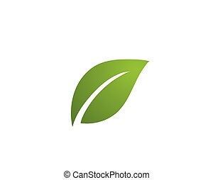 logo, ecologie, -, illustratie, vectors