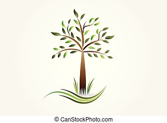 Logo ecology tree