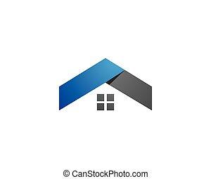 logo, eigenschaft, schablone